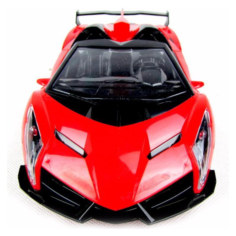 Xe ô tô mui trần điều khiển từ xa 4 chiều pin sạc RC 588-1 (Đỏ)