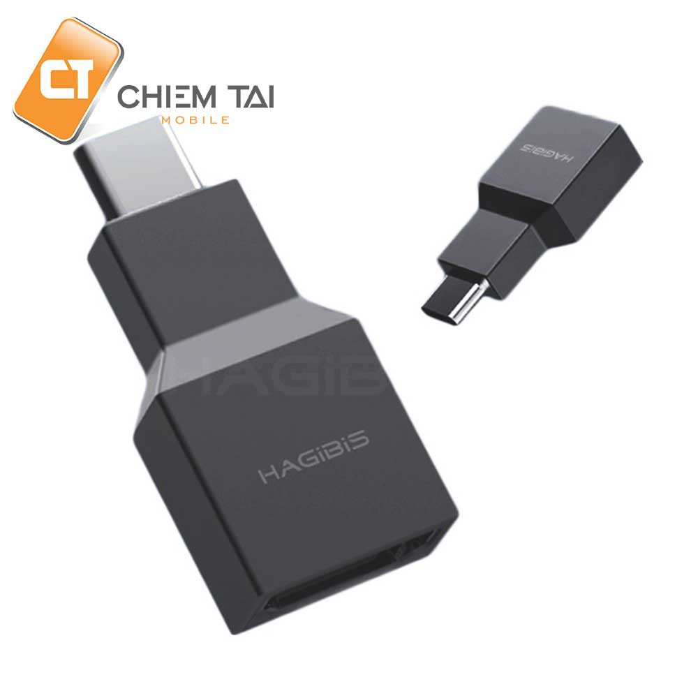 Adapter USB chuyển type C to HDMI HAGIBIS