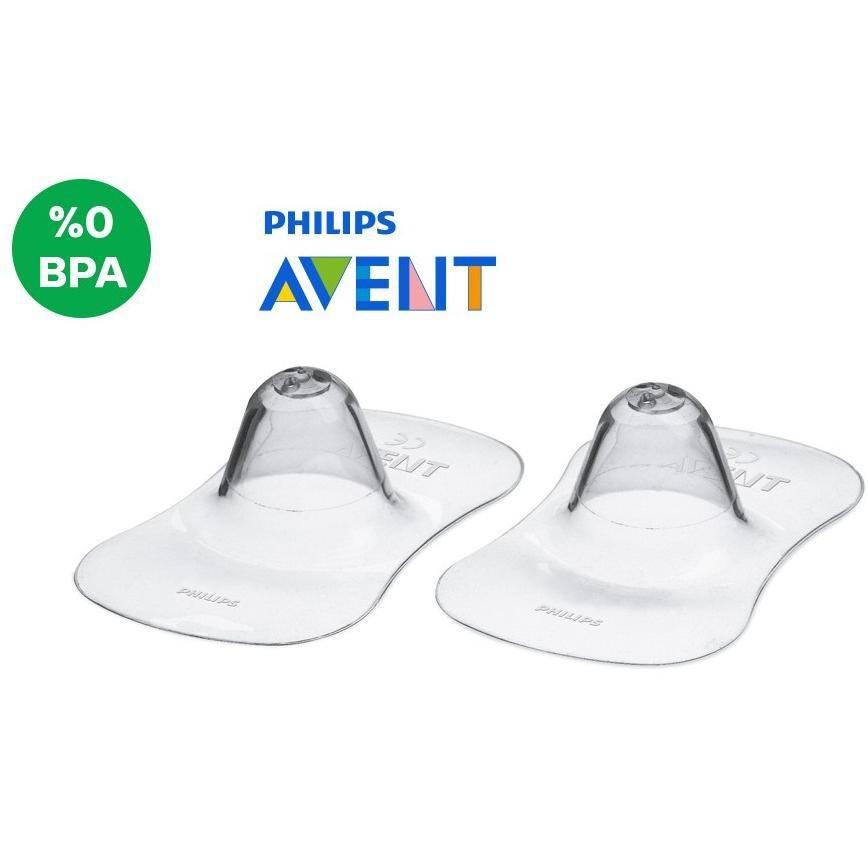 Trợ ty mẹ Philips Avent 21mm SCF153.03 (Hộp 2 cái)