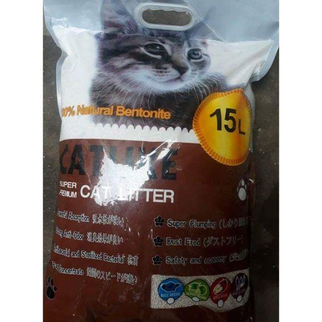 Cát mèo CATLIKE cao cấp dánh cho mèo đi vệ sinh