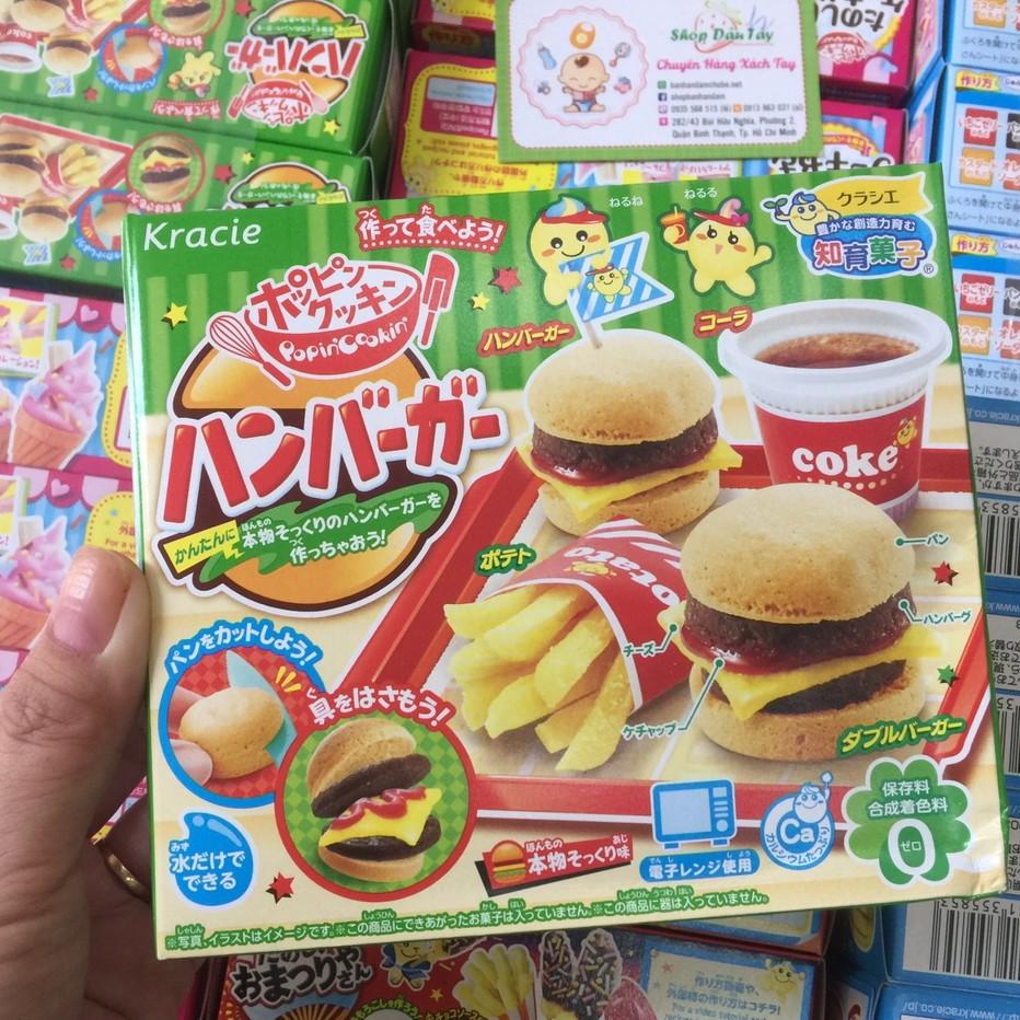 Bộ Làm Bánh Kracie Popin Cookin Hamburger DIY Kit Candy