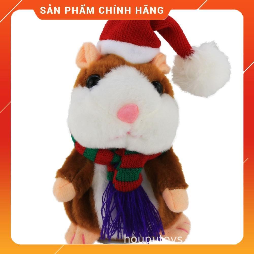 Hamster Giáng sinh Nói chuyện hamster đồ chơi sang trọng CỰC HÓT Mới 2020