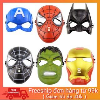[BAO GIÁ SHOPEE] Đồ chơi mặt nạ cosplay siêu anh hùng Avengers Marvel hàng chuẩn đẹp sale off Udj9Z
