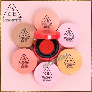 Má hồng nước Cushion 3CE Blush Cushion TPP thumbnail