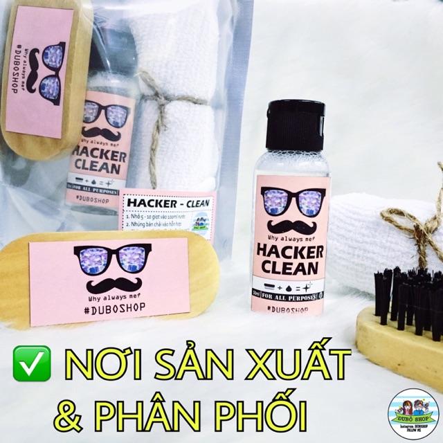 """Bộ vệ sinh Giày/ Túi """"HACKER-CLEAN"""" - VỆ SINH MỌI CHẤT LIỆU."""