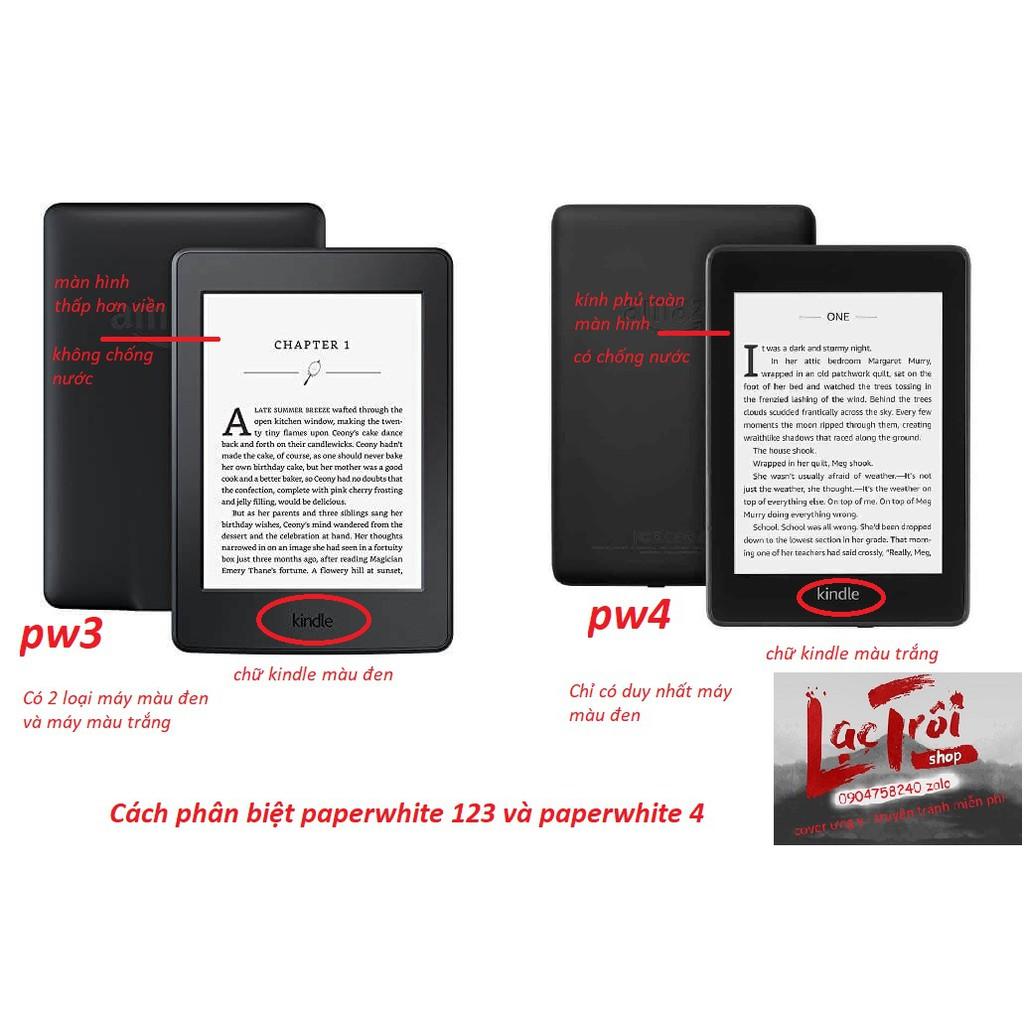 [Kindle Paperwhite 1234 - voyage] Smart Cover Origami - bao da thông minh để bàn