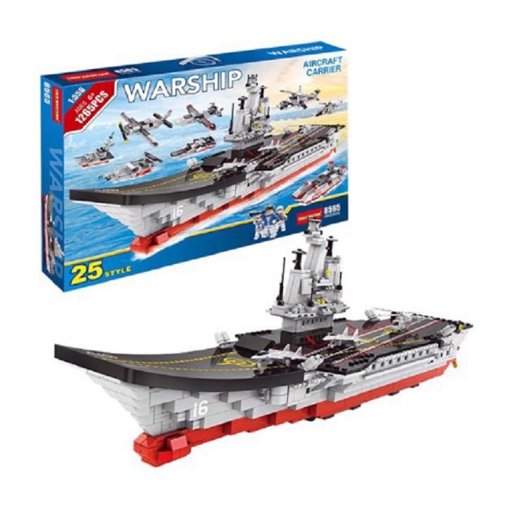 [728 CHI TIẾT] BỘ ĐỒ CHƠI XẾP HÌNH LEGO CHIẾN HẠM, LEGO OTO, LEGO ROBOT, LEGO Máy BAY, LEGO CITY, LEGO TÀU SÂN BAY