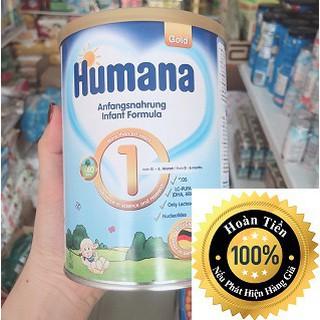 Sữa công thức Humana Gold số 1- 350g, Nhập khẩu Đức (ĐẢM BẢO CHECK MÃ CHUẨN)
