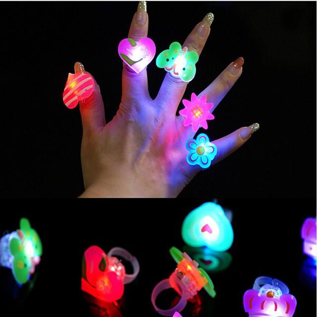 LED Finger Vòng ( BÀN TAY MA THUẬT)