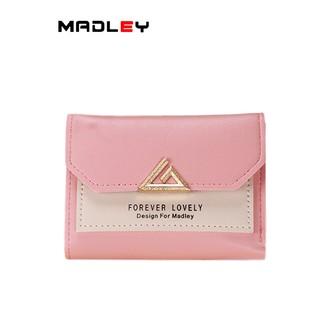 Ví nữ nhỏ ngắn mini MADLEY bỏ túi đựng tiền nhiều ngăn VD133 thumbnail