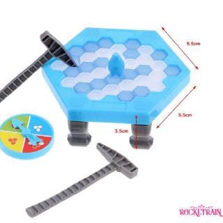 ℒℴѵℯ~Penguin Trap Icebreaker Kids Puzzle Desktop Knock Ice Block Family Funny Game