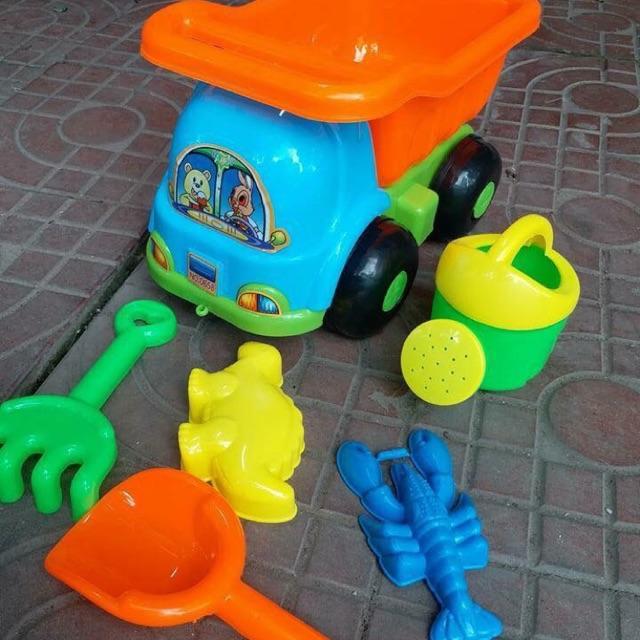 Bộ đồ chơi xúc cát đi biển quà cho bé - 3066893 , 1142120193 , 322_1142120193 , 90000 , Bo-do-choi-xuc-cat-di-bien-qua-cho-be-322_1142120193 , shopee.vn , Bộ đồ chơi xúc cát đi biển quà cho bé