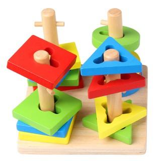 Luồn 3D đa năng luyện tay, mắt và tập trung cho bé