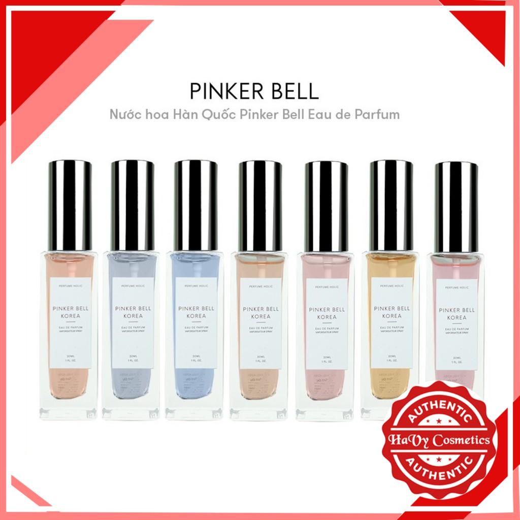 [Mã COSHOT24 hoàn 8% xu đơn 250K] Nước Hoa Pinker Bell Korea Eau The Pafum 30ml - Nước hoa bán chạy nhất Hàn Quốc