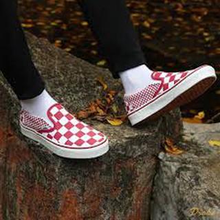 Hình ảnh Giày Vans Slip-On Mix Checker SKU: VN0A38F7VK5-3