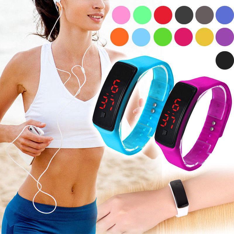 Đồng hồ điện tử thể thao cho bé trai và bé gái