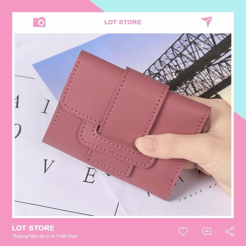 Ví nữ cao cấp cầm tay mini thời trang nhỏ gọn nhiều ngăn đẹp giá rẻ VD238