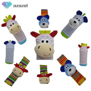 1PC/Set Baby Wrist Rattle Socks Baby Puzzle Wrist Strap Toy