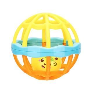 【Kiss】Newborn Toy Baby Toys Puzzle Hand Ball Hole Ball Rattle Soft Ball interactive