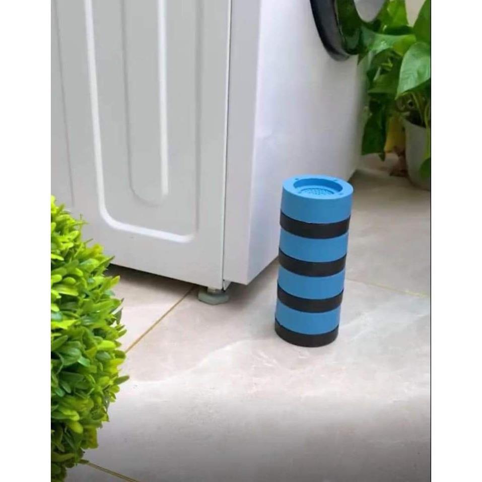 Sét 4 Đế máy giặt chống rung silicol