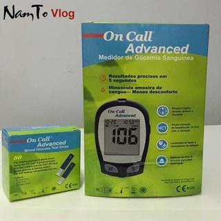 Máy đo đường huyết On Call Advanced trọn bộ