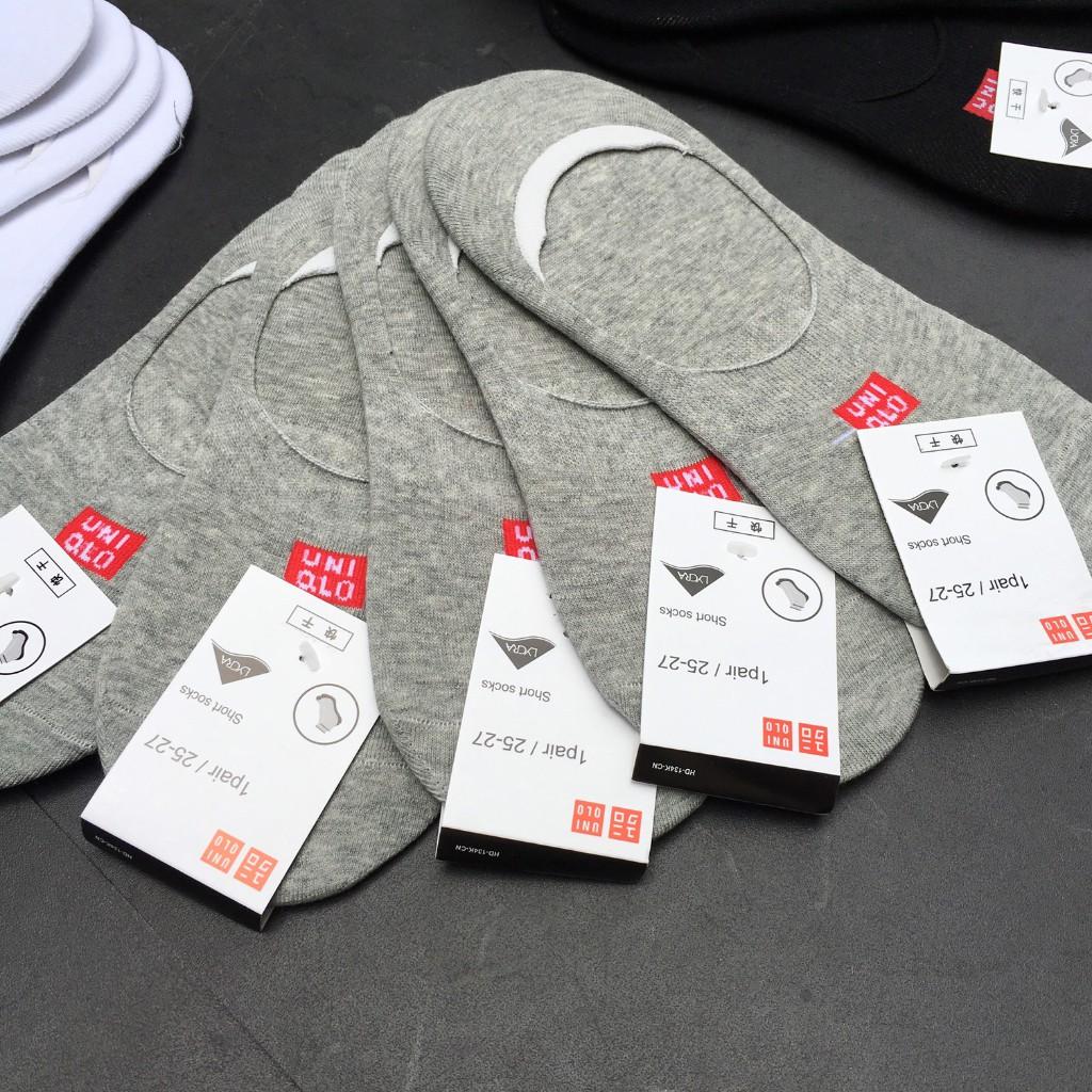 Set 5 đôi tất lười - vớ lười xuất Nhật - chống hôi chân - cotton thoáng khí thông hơi