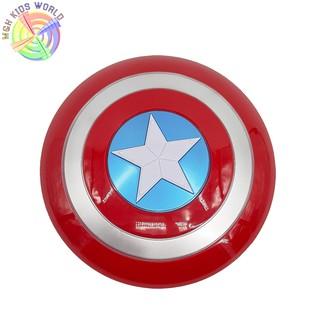 Khiên chiến binh Captain America (Đỏ) đồ chơi trẻ em 3+ hóa trang nhân vật, cosplay chơi nhập vai, halloween, sinh nhật