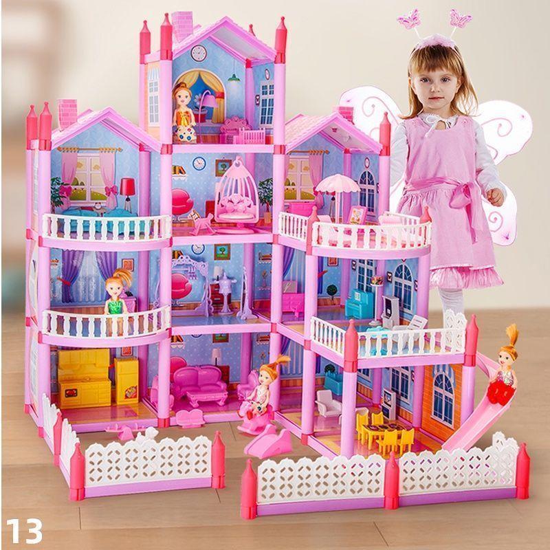 đồ chơi trẻ em Ngôi Nhà Búp Bê Barbie Xinh Xắn Cho Bé Gái
