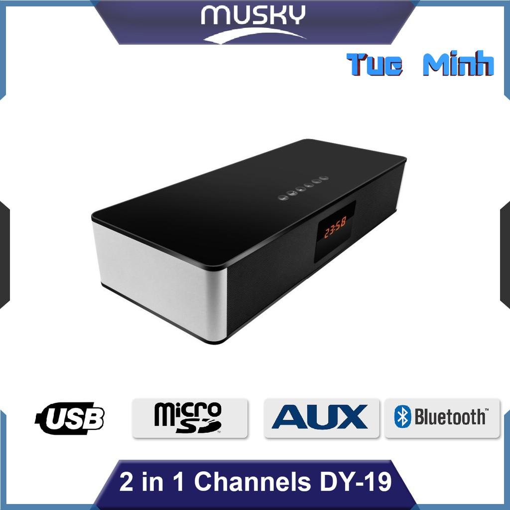Loa nghe nhạc Bluetooth Musky DY-19 - Màn hình hiển thị, đèn Led, kết nối âm thanh bluetooth, usb, t - 3163048 , 993350619 , 322_993350619 , 1190000 , Loa-nghe-nhac-Bluetooth-Musky-DY-19-Man-hinh-hien-thi-den-Led-ket-noi-am-thanh-bluetooth-usb-t-322_993350619 , shopee.vn , Loa nghe nhạc Bluetooth Musky DY-19 - Màn hình hiển thị, đèn Led, kết nối âm th