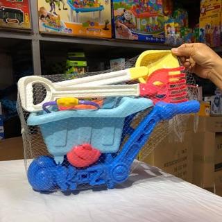 Bộ đồ chơi xúc cát cho bé. Ảnh thật tại kho (thanh lý)