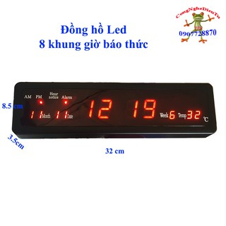 Đồng hồ Led treo tường 220 volt