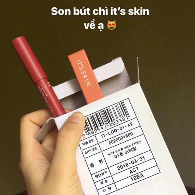 Son bút chì its skin - COMBO FREESHIP