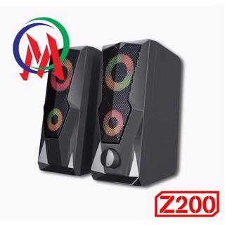 [Mã ELFLASH5 giảm 20K đơn 50K] Loa 2.0 Bosston Z200-Led RGB
