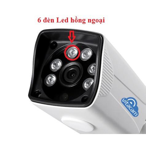 Camera IP Wifi Vitacam VB720 chuẩn HD 720P chống nước