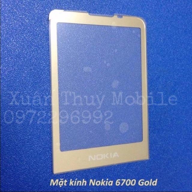Mặt kính Nokia 6700 Gold