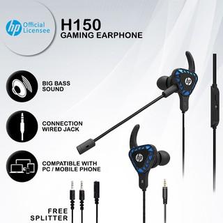 Tai nghe chơi game di động HP H150 (PUBG, MLBB, PC Game) thumbnail