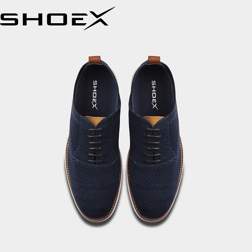 [Mã FASHIONSHOEX10 giảm 15% tối đa 100k đơn 150k] Giày Sneaker nam làm từ cà phê - SHOEX - COFFEE CAPTOE OXFORD