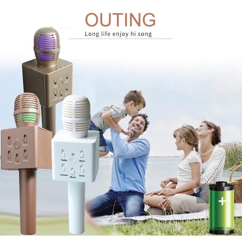 Micro karaoke kèm loa Bluetooth Q7 - 2654228 , 99510843 , 322_99510843 , 199000 , Micro-karaoke-kem-loa-Bluetooth-Q7-322_99510843 , shopee.vn , Micro karaoke kèm loa Bluetooth Q7