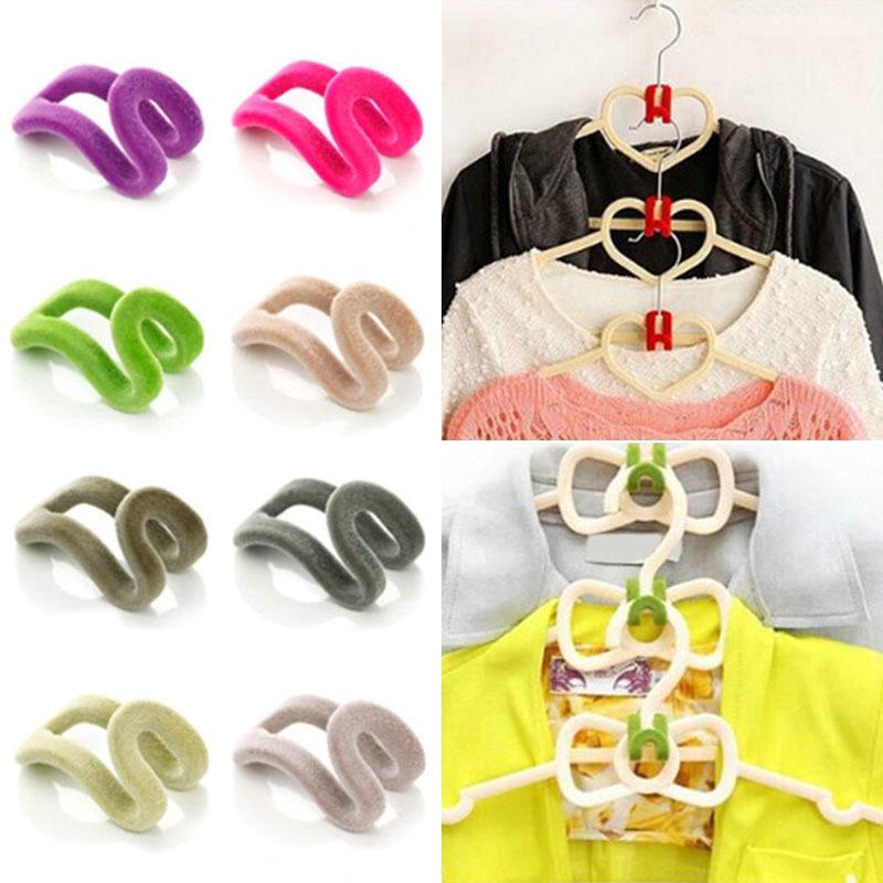 Giá móc hỗ trợ treo móc quần áo nhiều tầng tiết kiệm không gian tiện lợi