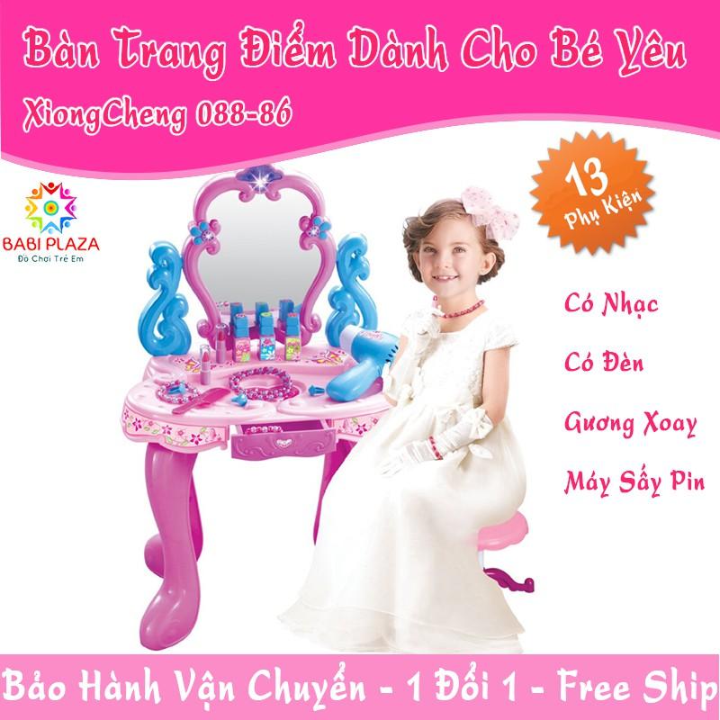 Bàn Trang Điểm Dành Cho Bé Yêu XIONGCHENG 008-86 – Đồ chơi nhập vai dành cho bé gái
