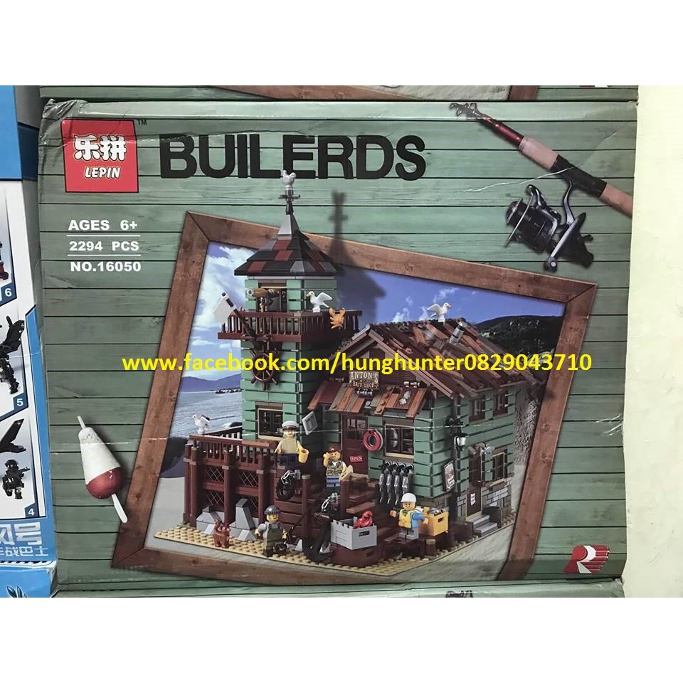 LEGO Lepin 16050 Ngôi nhà bán đồ câu