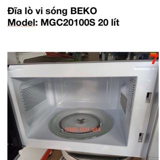 Đĩa lò vi sóng BEKO MGC20100S 20 lít thumbnail