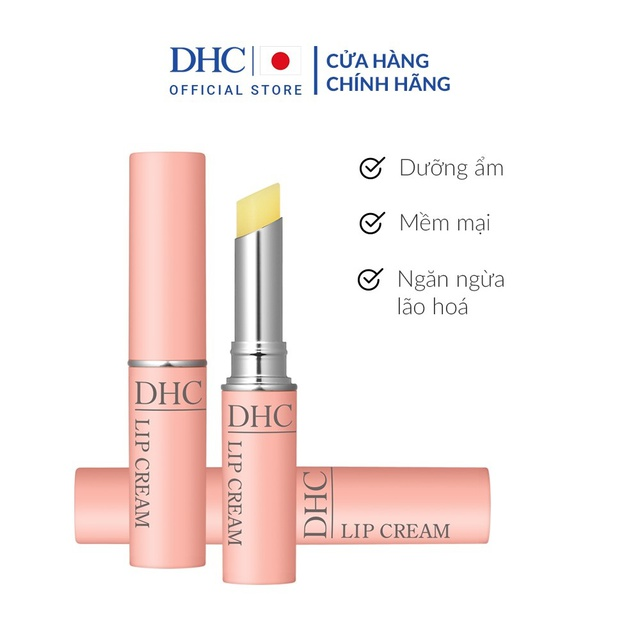[Mã FMCGMALL giảm 8% Tối đa 40K đơn 250K] Son dưỡng môi DHC Lip Cream 1,5g