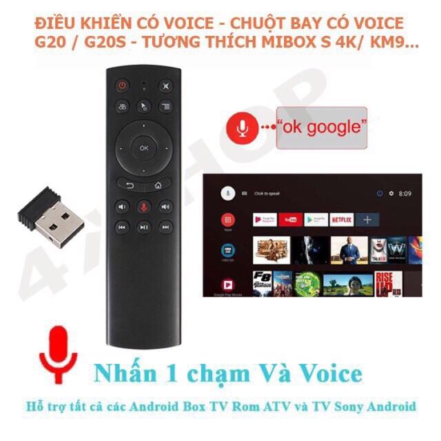 Chuột bay voice tìm kiếm giọng nói G20s, TZ20