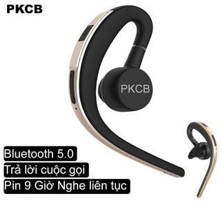 Tai Nghe bluetooth 5.0 Cao Cấp PKCB133 tai nghe nhét tai pin trâu 9 giờ có thể xoay nghe 2 tai tai nghe không dây kèm mi
