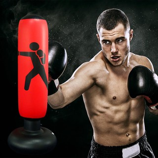 ✿READY STOCK✿Inflatable Punching Bag Fitness Pressure Relief Boxing Sandbag for Adults