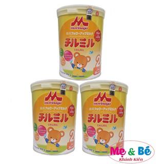 [Mã MKBCS01 hoàn 8% xu đơn 250K] Combo 3 hộp Sữa Morinaga số 2 850g mẫu mới(có tem chính hãng, date T8 2022) thumbnail