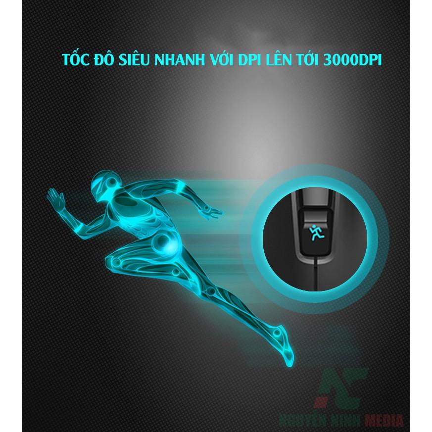 Chuột Game không dây Forter i750 LED RGB 3000DPI