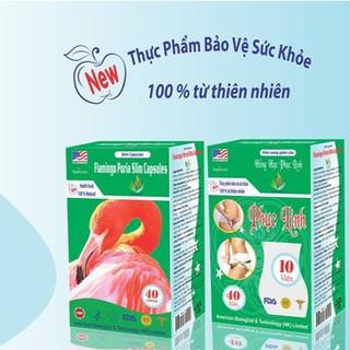 [CHÍNH HÃNG] Viên uống giảm cân Hồng Hạc Phục Linh (lọ x40 viên) thumbnail