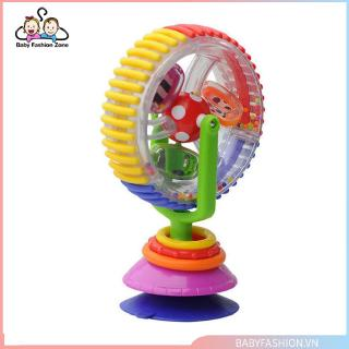[0620]Baby Multi-Colors Rattle Toys Rotating Ferris Wheel Toys With Sucker Base